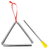 Детский музыкальный инструмент GOKI Треугольник маленький (UC004G)
