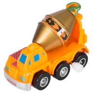 Игрушка заводная GOKI Машинка оранжевая (13219G-4)