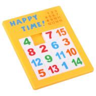 Игра настольная GOKI Пятнашки жёлтые (13186G-2)