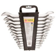 Набір ключів ріжковий TOPEX 35D657 12шт