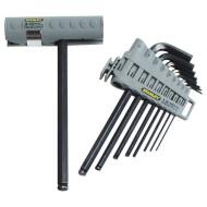 Набір ключів шестигранний STANLEY Hex Grip 0-89-904 10шт