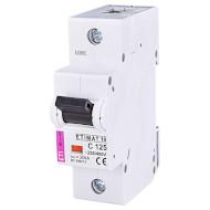 Выключатель автоматический ETI ETIMAT 10 1P C125 (2131733)