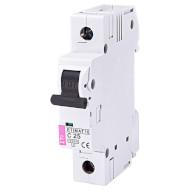Выключатель автоматический ETI ETIMAT 10 1P C25 (2131718)
