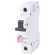 Выключатель автоматический ETI ETIMAT 10 1p C6 (2131712)