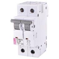 Выключатель автоматический ETI ETIMAT 6 2P C20 (2143517)