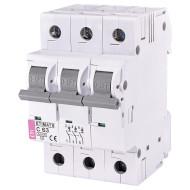 Выключатель автоматический ETI ETIMAT 6 3p C63 (2145522)