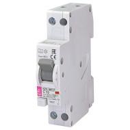 Дифференциальный автоматический выключатель ETI KZS-1M-SUP 1p+N A C10/0.03 (2175722)