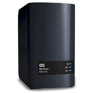NAS-сервер WD My Cloud EX2 Ultra 4TB (WDBVBZ0040JCH-EESN)