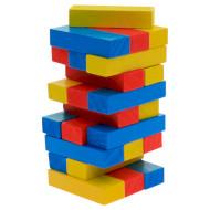 Игра настольная GOKI Дженга разноцветная башня (HS973)