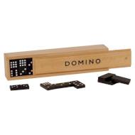 Игра настольная GOKI Домино 55 в деревянной коробке (15336G)