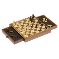 Игра настольная GOKI Шахматы с ящичками (56919G)