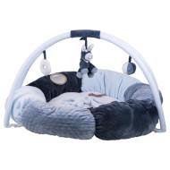 Коврик развивающий NATTOU Алекс и Бибу с дугами и подушками (321259)