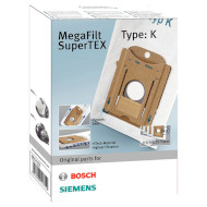 Набор мешков BOSCH MegaFilt SuperTEX BBZ41FK