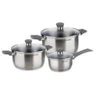 Набор посуды RONDELL Strike Gray 6пр (RDS-820)
