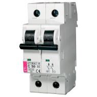 Выключатель автоматический ETI ETIMAT 10-DC 2p C50 6kA (2138721)