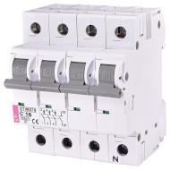 Выключатель автоматический ETI ETIMAT 6 3p+N C16 (2146516)