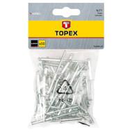 Заклёпка вытяжная TOPEX 43E302 3.2x10мм 50шт