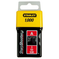 Скобы STANLEY Light Duty тип A 4мм 1000шт (1-TRA202T)