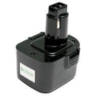 Аккумулятор POWERPLANT для шуруповёртов и электроинструментов DeWalt 1300mAh 12V (DV00PT0033)