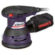 Эксцентриковая шлифовальная машина SPARKY EX 125E