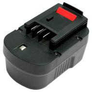 Аккумулятор POWERPLANT для шуруповёртов и электроинструментов Black&Decker 2000mAh 14.4V (DV00PT0026)