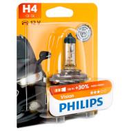Лампа галогенова PHILIPS Vision H4 1шт (12342PRB1)