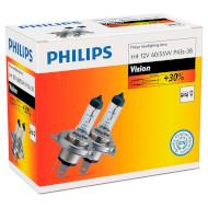 Лампа галогенная PHILIPS Vision H4 2шт (12342PRC2)