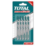 Полотно для электролобзика TOTAL TAC51118B 5шт