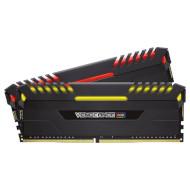 Модуль памяти CORSAIR Vengeance RGB Black DDR4 3000MHz 16GB Kit 2x8GB (CMR16GX4M2C3000C15)