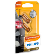 Лампа накаливания PHILIPS Vision WY5W 2шт (12396NAB2)