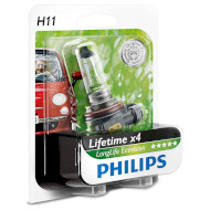 Лампа галогенова PHILIPS LongLife EcoVision H11 1шт (12362LLECOB1)