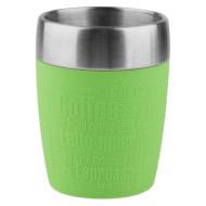 Термокружка TEFAL Travel Cup Silver/Lime 0.2л