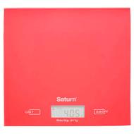 Весы кухонные SATURN ST-KS7810 Red
