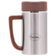 Термокружка CON BRIO CB-339 Brown 0.4л