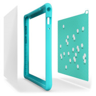 Чехол-накладка для планшета LENOVO Tab4 8 Bumper Sticker Blue (ZG38C01700)