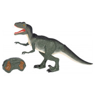 Интерактивная игрушка SAME TOY Dinosaur Planet велоцираптор зёленый со светом и звуком (RS6134UT)