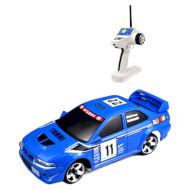 Радиоуправляемая машинка FIRELAP 1:28 IW04M Mitsubishi EVO Blue 4WD (FLP-405G4A)