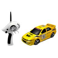 Радиоуправляемая машинка FIRELAP 1:28 IW04M Mitsubishi EVO Yellow 4WD (FLP-405G4Y)