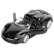 Радиоуправляемая машинка MEIZHI 1:24 Porsche 918 Spyder Metallic Black 2WD (MZ-25045AB)