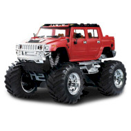 Радиоуправляемый джип GREAT WALL TOYS 1:43 Hummer 2008D Red 2WD (GWT2008D-1)