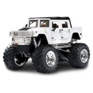 Радиоуправляемый джип GREAT WALL TOYS 1:43 Hummer 2008D White 2WD (GWT2008D-4)