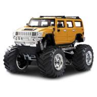 Радиоуправляемый джип GREAT WALL TOYS 1:43 Hummer 2008D Yellow 2WD (GWT2008D-7)