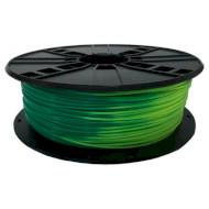 Пластиковый материал (филамент) для 3D принтера GEMBIRD PLA 1.75mm Blue Green to Yellow Green (3DP-PLA1.75-01-BGYG)