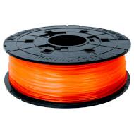 Пластиковый материал (филамент) для 3D принтера XYZPRINTING PLA 1.75mm Transparent Tangerine (RFPLCXEU07B)