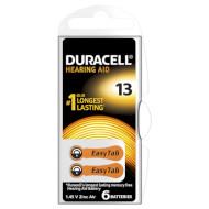 Батарейка для слухового аппарата DURACELL EasyTab 13 6шт