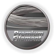 Пластиковый материал (филамент) для 3D принтера FISCHERTECHNIK PLA 1.75mm Silver (539127)