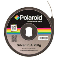 Пластиковий матеріал (філамент) для 3D принтера POLAROID PLA 1.75mm Silver (3D-FL-PL-6013-00)