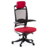 Кресло руководителя SPECIAL4YOU Fulkrum Black/Red (E0635)