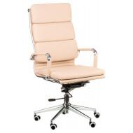Кресло руководителя SPECIAL4YOU Solano 2 Artleather Beige (E4701)
