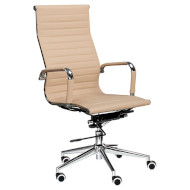 Кресло руководителя SPECIAL4YOU Solano Artleather Beige (E1533)